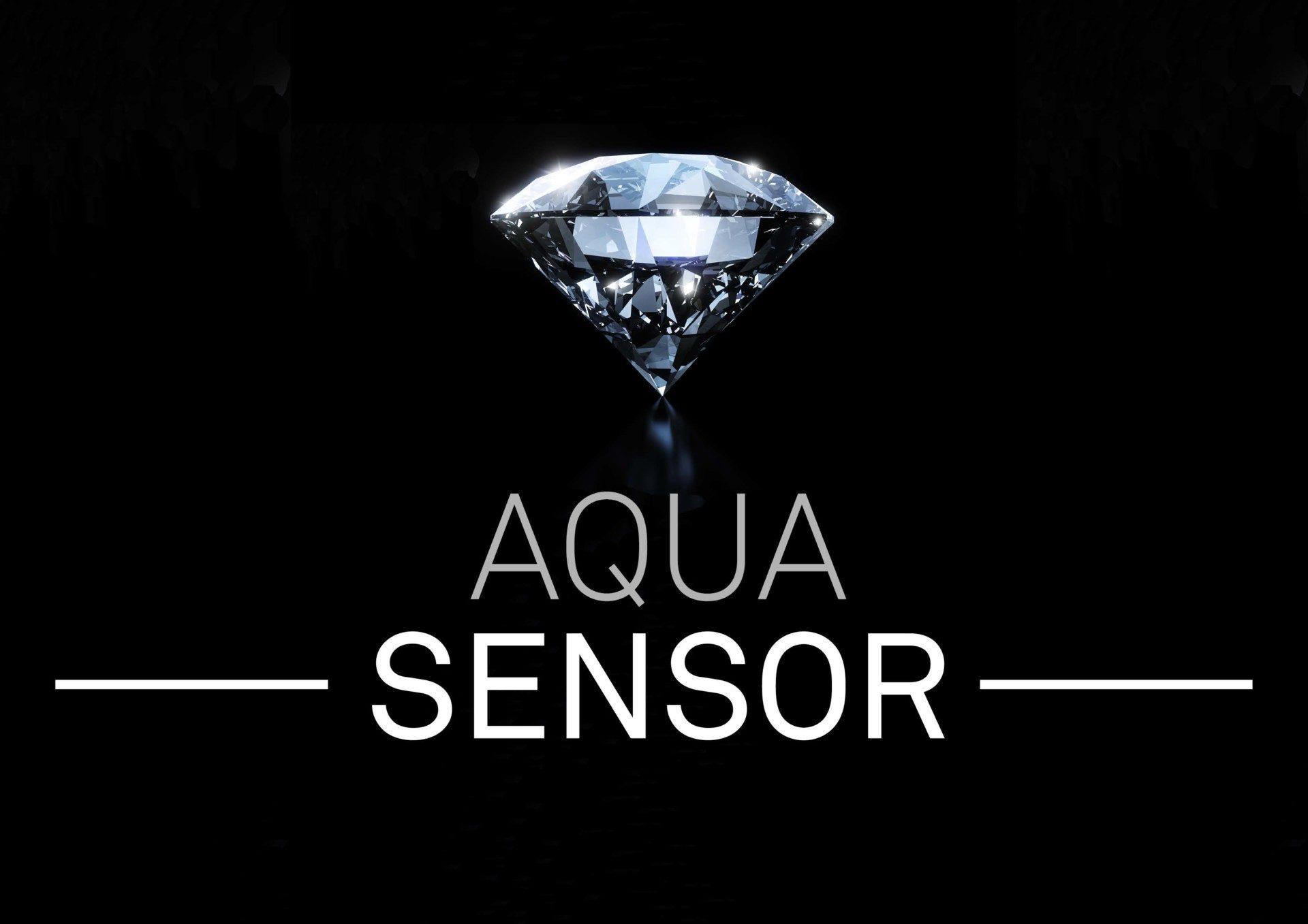 Bijgesneden logo aqua sensor